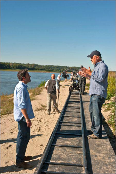 Ben Affleck und David Fincher beim Dreh © Twentieth Century Fox