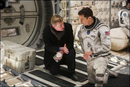 'Interstellar' Regisseur Christopher Nolan mit Matthew McConaughey © Warner Bros. Ent.