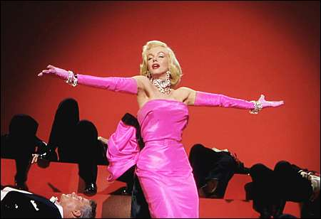 Marilyn Monroe in Gentlemen Prefer Blondes 1953 © Twentieth Century Fox Film Corporation Inc.