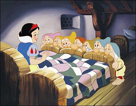 Walt Disney Snow White and the Seven Dwarfs 1937 © Disney