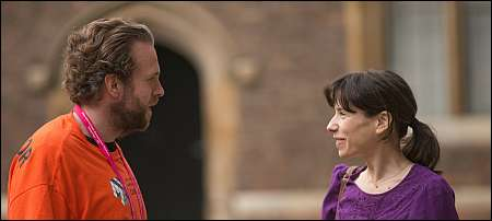Rafe Spall und Sally Hawkins in 'X and Y' © Praesens