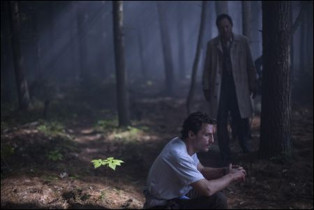 Matthew McConaughey und Ken Watanabe in 'The Sea of Trees' von Gus van Sant