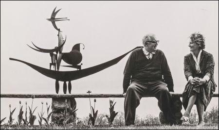 Eine Liebesgeschichte: Friedrich und Lotti Dürrenmatt © DCM