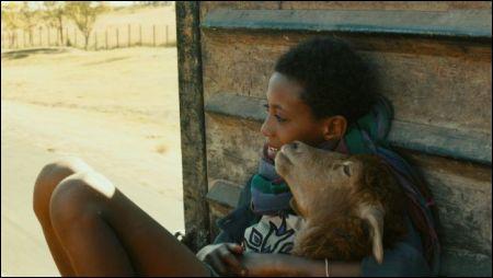 Ephraïm (Rediat Amare) mit seinem Lamm im Film 'Lamb' © trigon