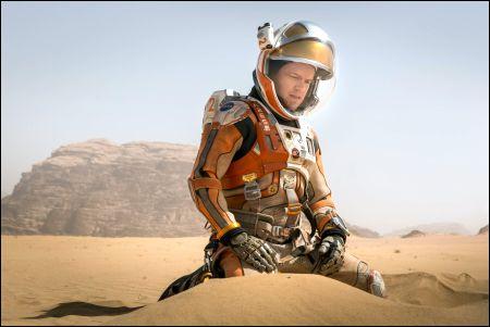 Mark Watney (Matt Damon) © 2015 Twentieth Century Fox