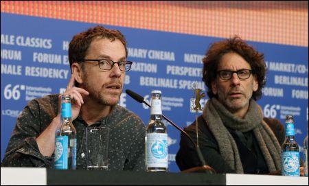 Joel und Ethan Coen an der Berlinale PK zu 'Hail, Caesar!'