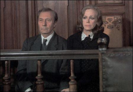 Otto (Carl Raddatz) und Anna Quangel (Hildegard Knef) in Alfred Vohrers Verfilmung von 1975