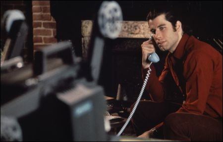 John Travolta in Brian De Palmas 'Blow Out'