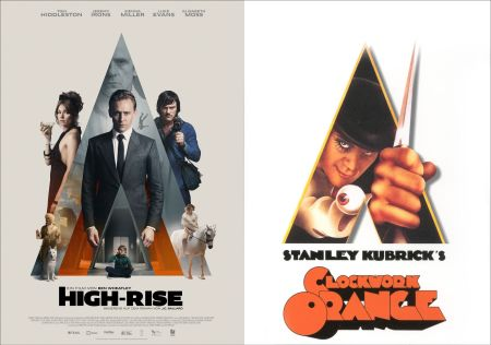 Poster für High Rise und Clockwork Orange