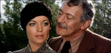 François Maistre mit Romy Schneider in Claude Chabrols 'Les innocents aux mains sales' von 1974