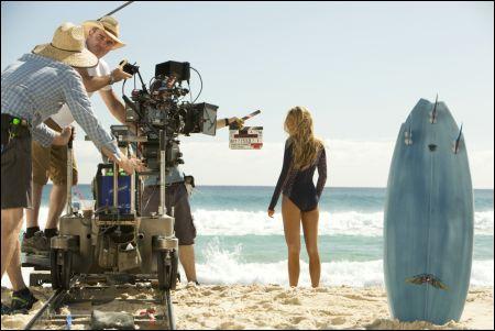 Blake Lively bei den Dreharbeiten zu 'The Shallows' © Walt Disney Schweiz