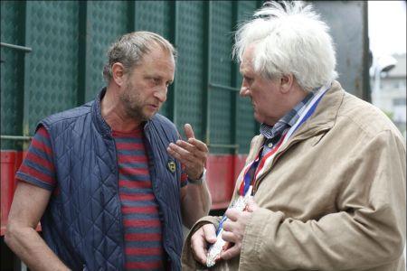 Benoit Poelvoorde und Gérard Depardieu in 'Saint Amour' © frenetic