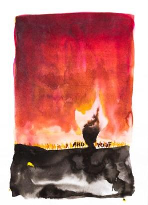 <em>Untitled</em>, 2016, ink on paper, 12 x 8.5 in.