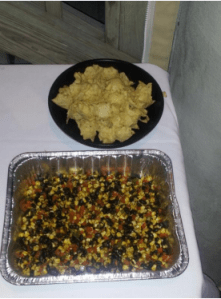 Roasted Corn, Pepper and Black Bean Salsa Large