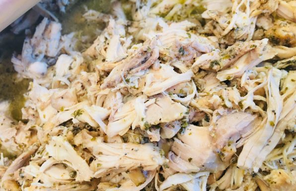 Mojo Pulled Chicken