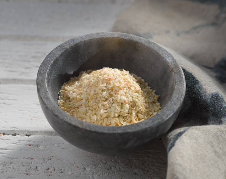 dry onion minced