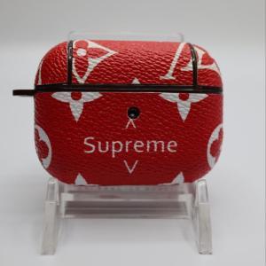 Louis Vuitton Supreme Airpod case