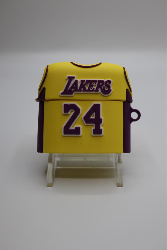 Lakers Kobe Bryant 24 Jersey Airpod Case -