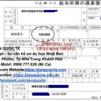 Thuế thu nhập cá nhân ở Nhật: vấn đề nhiều du học sinh lo lắng