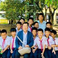 Ông bố Nhật xây trường cho trẻ Việt theo di nguyện của con gái, Ngôi trường Junko được ông Takahashi xây dựng tại Quảng Nam