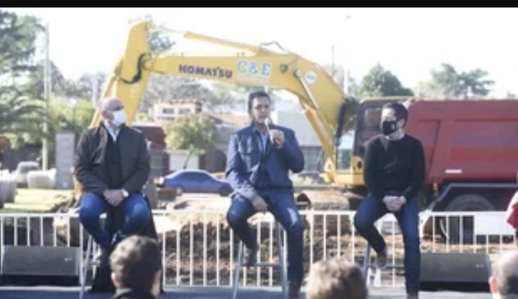 """Sergio Massa junto a Axel Kicillof: """"La provincia está en marcha"""""""