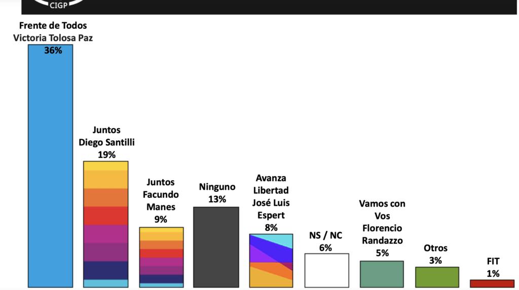 Las primeras encuestas pronostican un triunfo del Frente de Todos ante Juntos por 8 puntos en la Provincia de Buenos Aires,