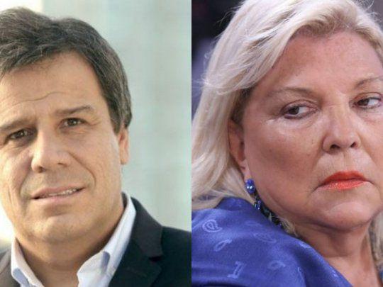 Facundo Manes ignora a Elisa Carrió