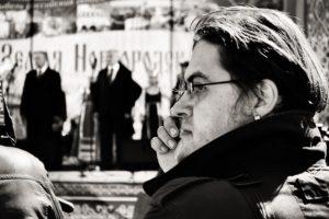 главный редактов, александр фролов, журналистика, журналист, митинг, политика