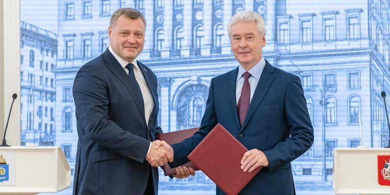 Москва и Астраханская область согласовали программу сотрудничества до 2025 года