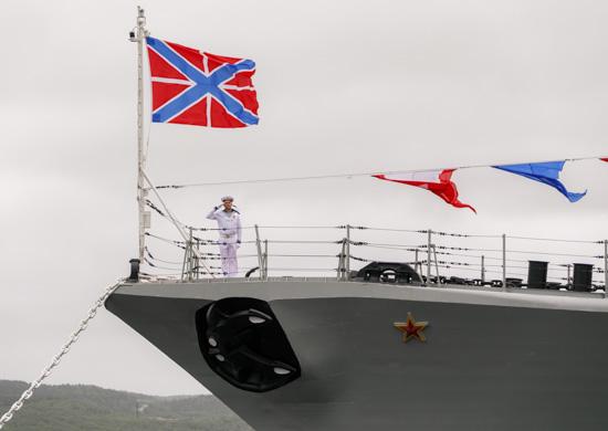 Фрегат «Адмирал Касатонов» принят в состав ВМФ России