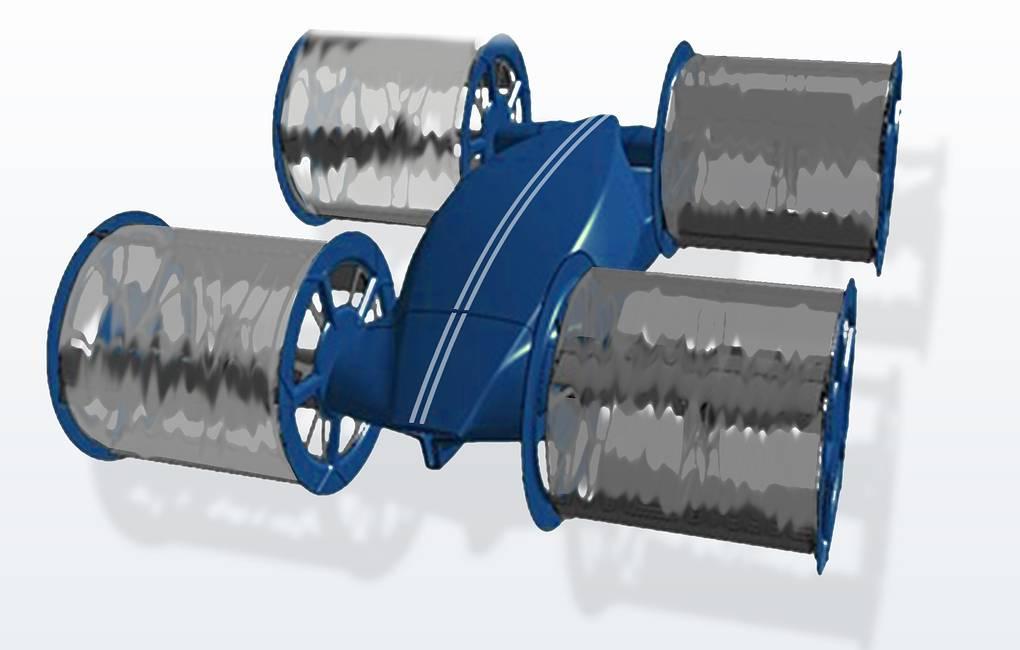 На «Армии-2020» показали прототип циклолета для десанта