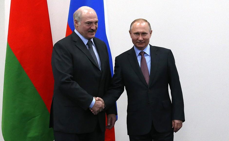 Песков: форма участия Путина на форуме в Минске прорабатывается