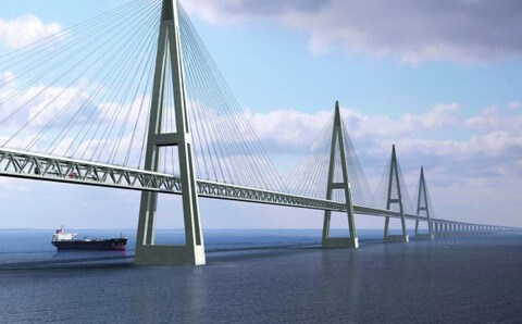 Через реку Лену в районе города Якутска по нацпрограмме построят мост