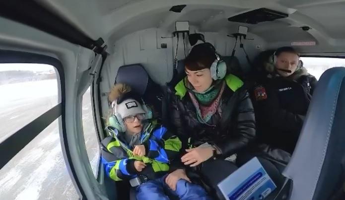 Мечту 8-летнего мальчика Серёжи исполнил губернатор Подмосковья