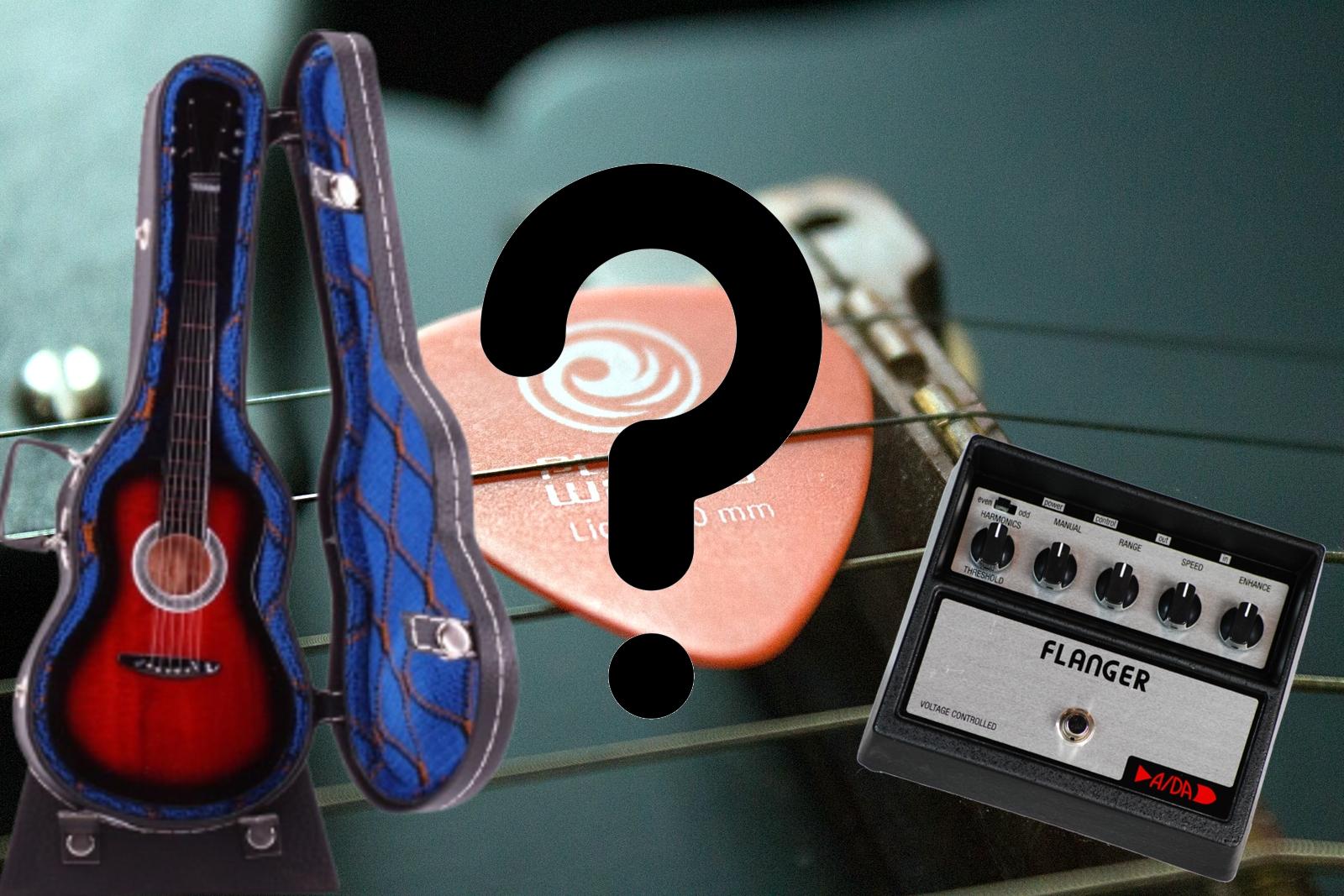 Что подарить гитаристу?