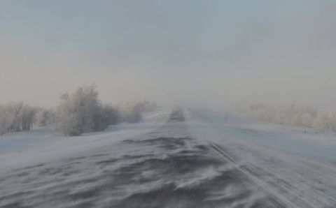 На Колыме продлили экстренное предупреждение из-за метели