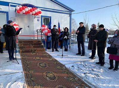 В Оренбургской области открыли три фельдшерско-акушерских пункта