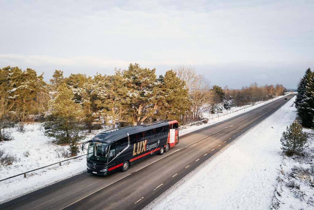 Lux Express открывает новый автобусный маршрут Санкт-Петербург — Минск