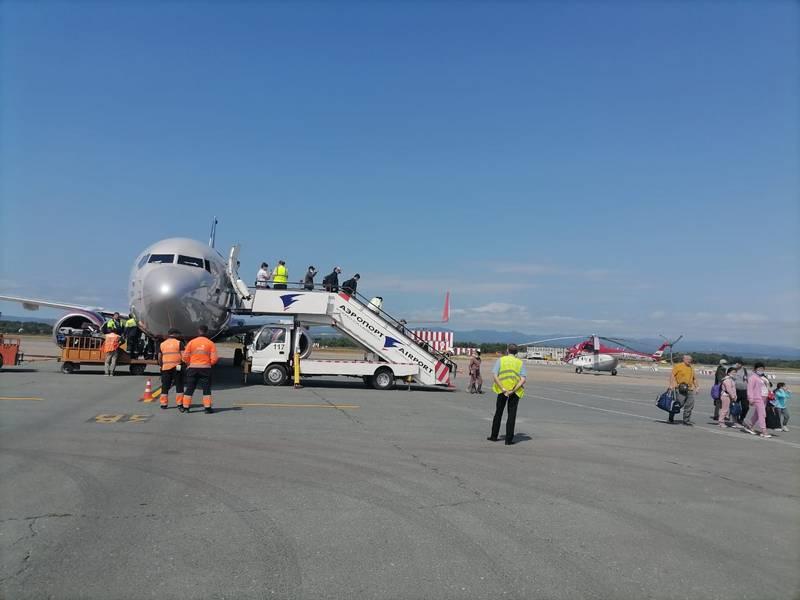 Прямой авиарейс связал Красноярск и Южно-Сахалинск