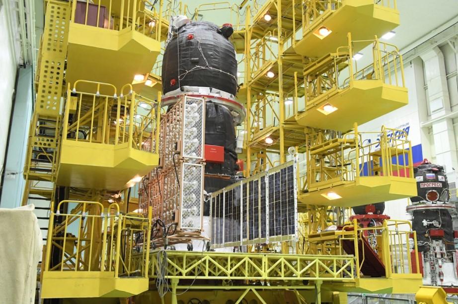 Космический корабль «Прогресс МС18» допустили к заправке