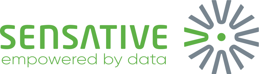 Sensative logo empowered by data