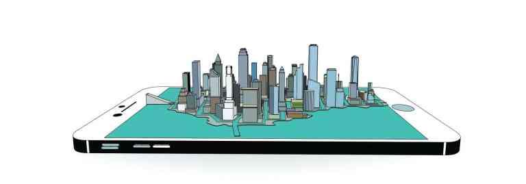 smart city on mobile