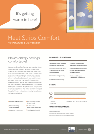 Strips Comfort pic of the product sheet