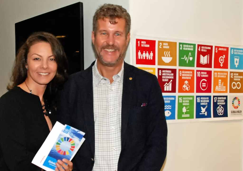 Marina och Henrik Agendex