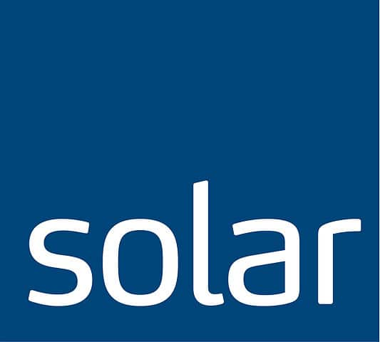 Solar logo no