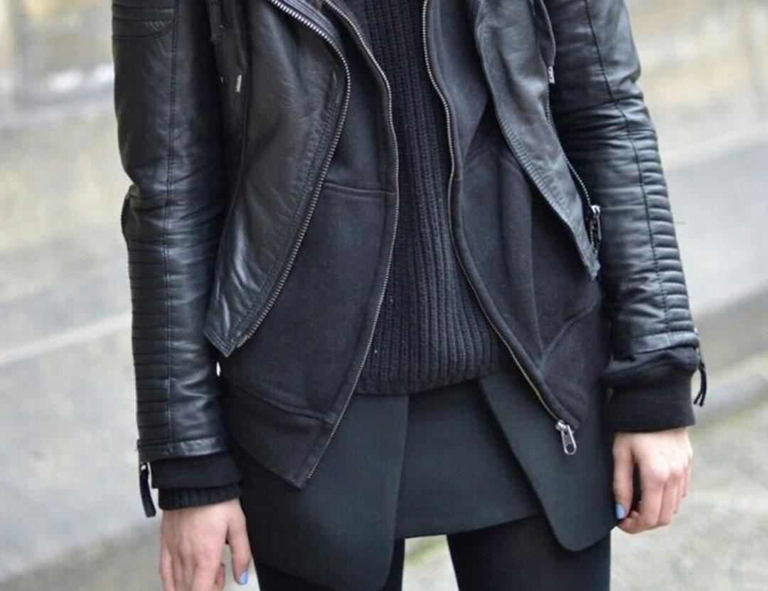 look tout noir