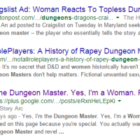 "The Prequel to: ""Yes, I'm a Dungeon Master. Yes, I'm a Woman."""