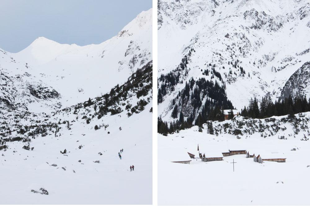 Weekend dans les Alpes autrichiennes