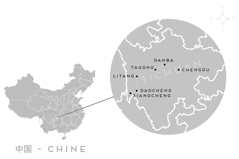 voyage sichuan itinéraire