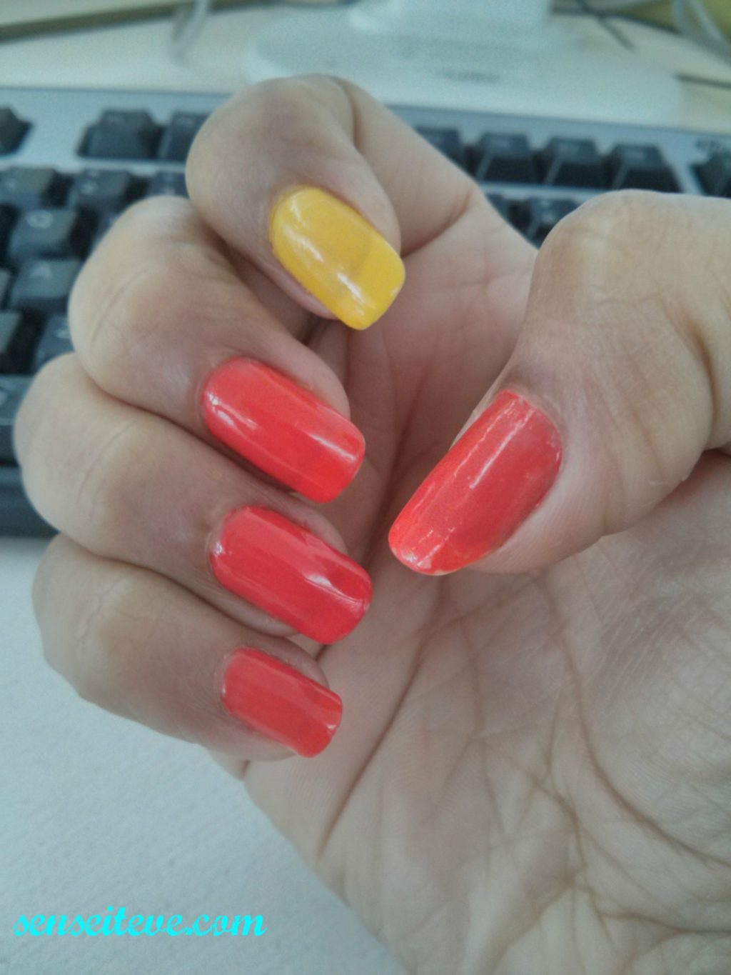 Mix and Match & Color-block_ Easy to do nailart